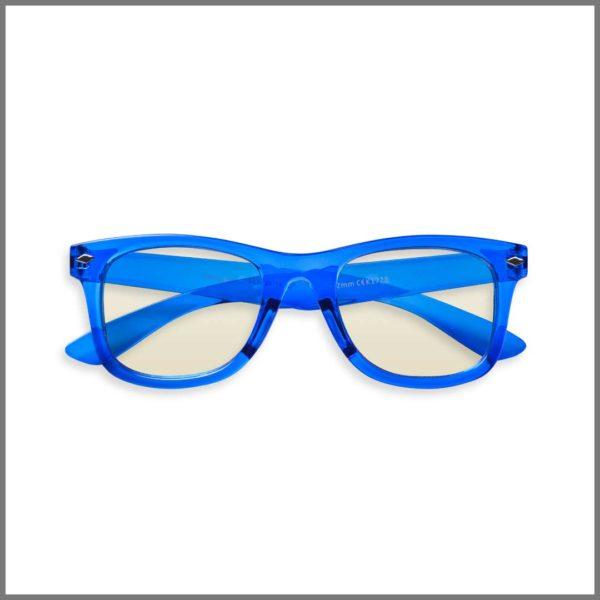Lunettes de lecture pour presbytes K1728 (KP383 T-BU+4R2-C) , lunettes loupes forme ronde et design pour homme et femme