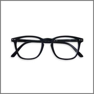 Lunettes de lecture pour presbytes M1101 (KP397-67 B-BK+4R27-R), lunettes loupes forme ronde et design pour homme et femme