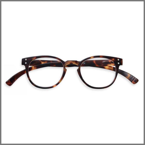 Lunettes de lecture pour presbytes M1740 (KP274-P15 T-T05+4R24-R), lunettes loupes forme ronde et design pour homme et femme