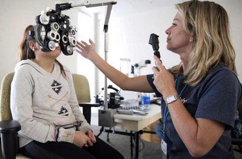 Causes provoquant les yeux enfoncés
